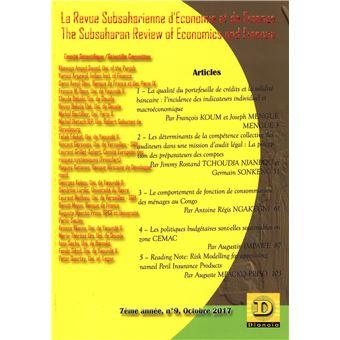 Subsaharienne d'economie et de finance,09