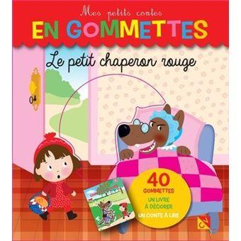 Chaperon RougeGommettes 40 Mes petits contes en gommettes