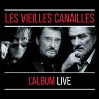 Les vieilles canailles L'album Live Coffret