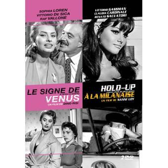 Le signe de Vénus, Hold-up à la Milanaise coffret DVD
