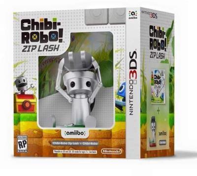 Chibi-Robo ! Zip Lash + Amiibo Chibi-Robo 3DS