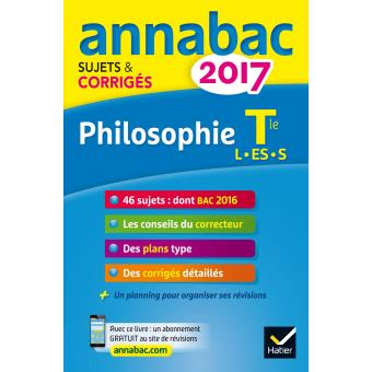 annabac dissertation philosophie