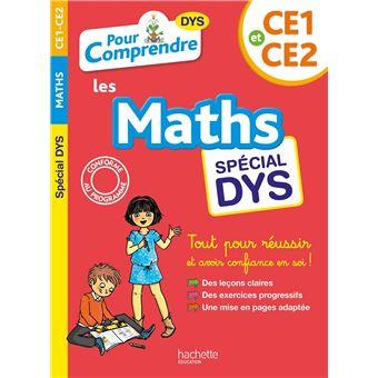 Maths CE1-CE2 Dyslexie
