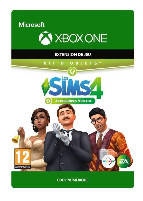 Code de téléchargement Les Sims 4 : Accessoires vintage Xbox One