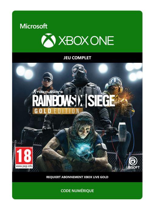 Code de téléchargement Tom Clancy's Rainbow 6 Siege: Year 4 Gold Xbox One