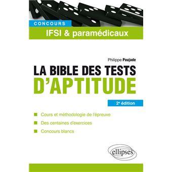 La bible des tests psychotechniques des concours IFSI et ...