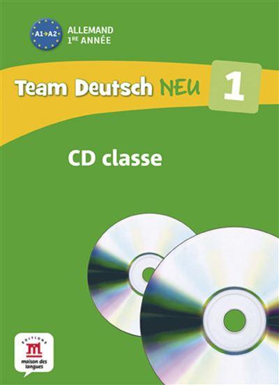 Team deutsch neu 1 coffret 2cd pour la classe