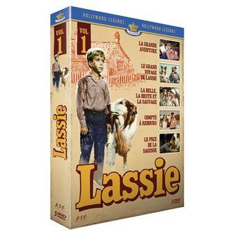 Les Aventures de LassieCoffret Lassie Les longs métrages Partie 1 DVD