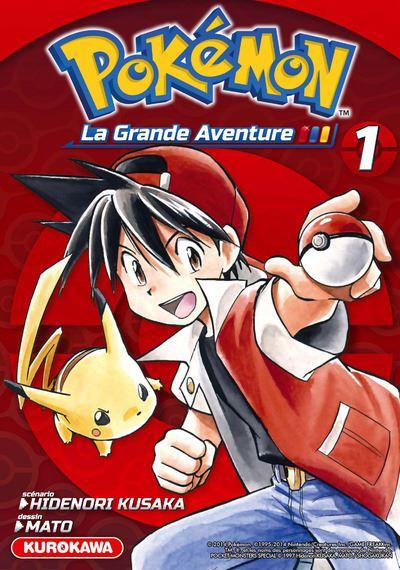 Pokémon, La Grande Aventure - tome 1