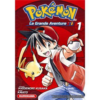 Les Pokemon La Grande Aventure Tome 1 Pokemon La Grande Aventure