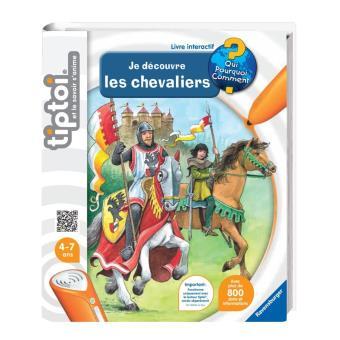 Livre Interactif Je Decouvre Les Chevaliers Tiptoi Ravensburger