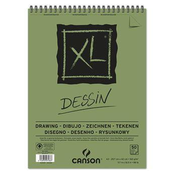 Bloc de 50 feuilles A3 Canson XL® Dessin