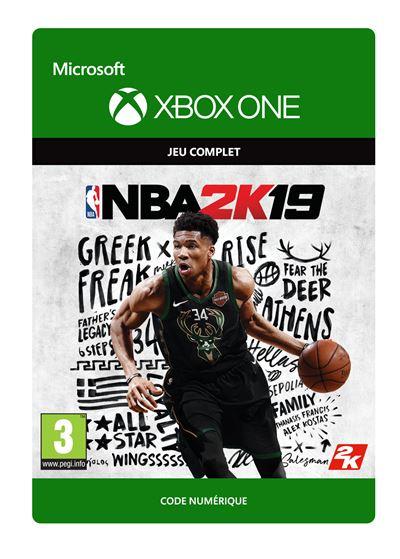 Code de téléchargement NBA 2K19 Xbox One