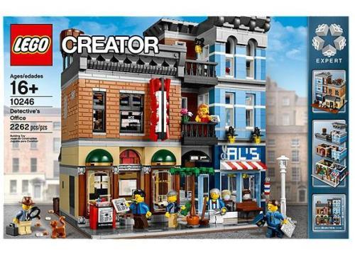 Lego expert le bureau du détective lego achat prix fnac