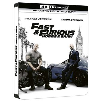 Fast and FuriousFast and Furious : Hobbs and Shaw Steelbook Blu-ray 4K Ultra HD