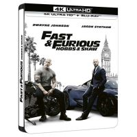 Fast and Furious : Hobbs and Shaw Steelbook Blu-ray 4K Ultra HD