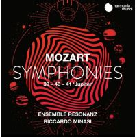 Mozart Symphonies Numéros 39-41 Jupiter
