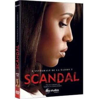 ScandalScandal Saison 3 DVD