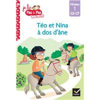 Téo et Nina GS CP Niveau 1 - Téo et Nina à dos d'âne
