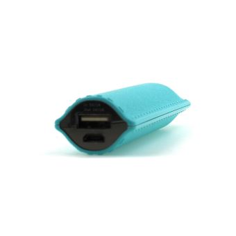 B2B POWERBANK LEATHER COLOR 2600MAH BLUE