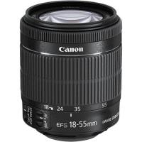 Canon EF-S zoomlens - 18 mm - 55 mm