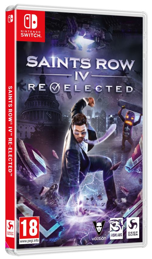 Saints Row IV : Re-elected Nintendo Switch