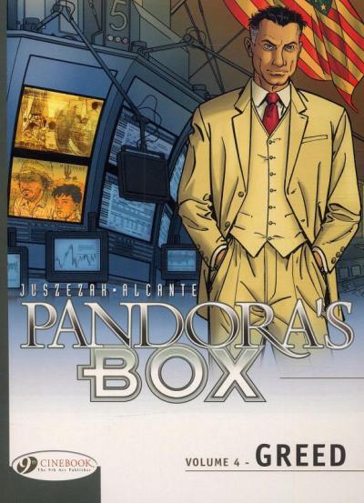 Pandora's Box - tome 4 Greed