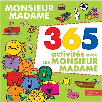 Monsieur Madame365 activités