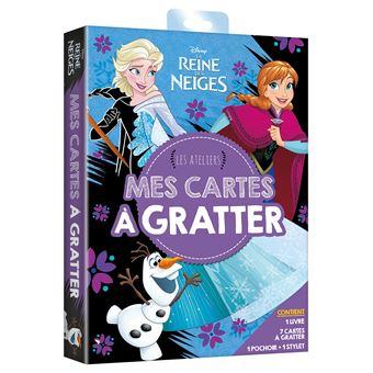 Frozen, La reine des neigeLA REINE DES NEIGES - Les Ateliers Disney - Mes cartes à gratter