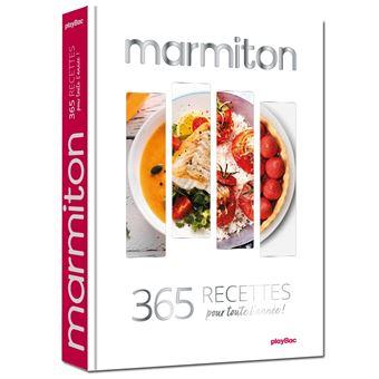 Marmiton  365 recettes pour cuisiner au fil des saisons