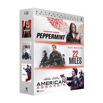 Coffret Action Vengeance DVD