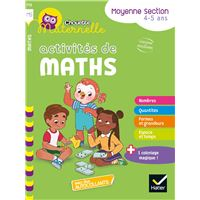 Activités de Maths Maternelle MS Workbook