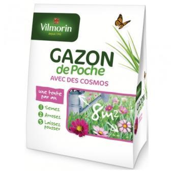 VILMORIN FND GAZON DE POCHE AVEC COSMOS*