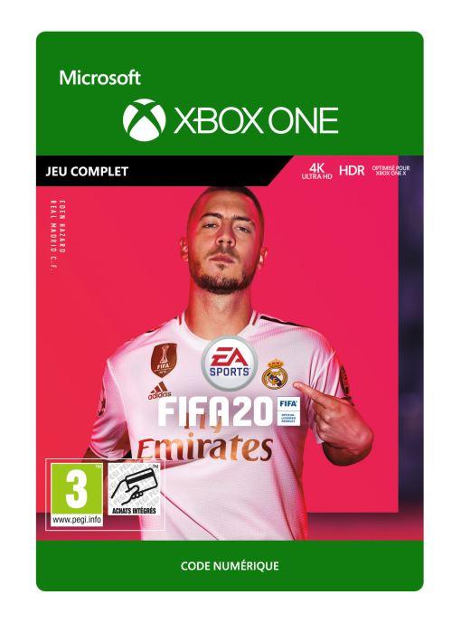 Code de téléchargement FIFA 20  Xbox One