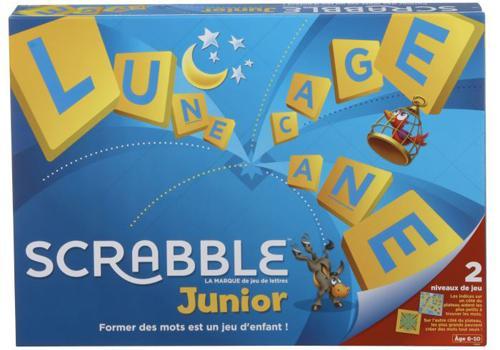 Jeu de lettres Mattel Scrabble Junior