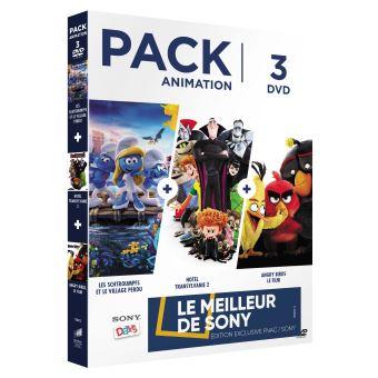 Coffret Animation Exclusivité Fnac DVD