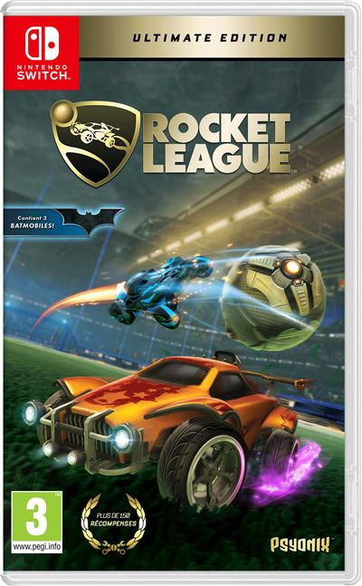 Rocket League Edition Collector Nintendo Switch
