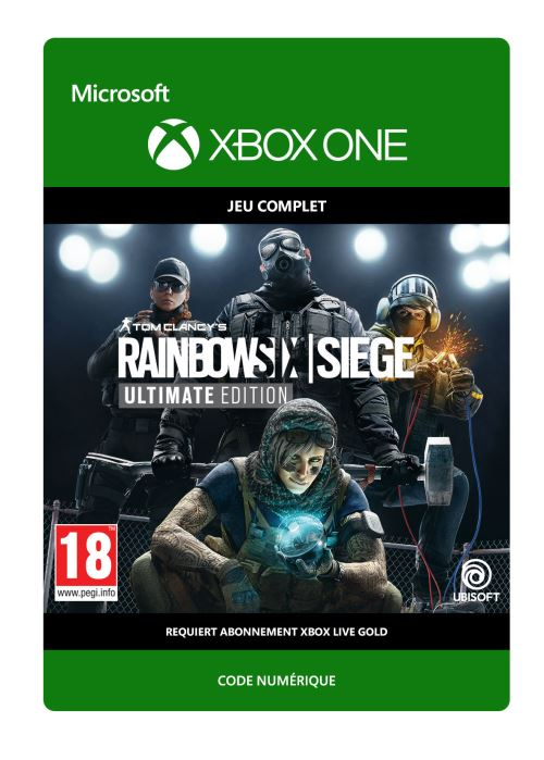 Code de téléchargement Tom Clancy's Rainbow 6 Siege: Year 4 Ultimate Xbox One
