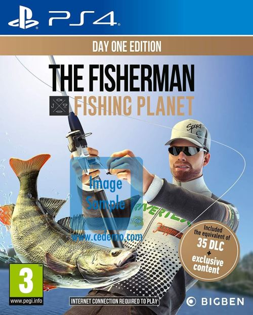 The Fisherman Fishing Planet Edition Day One PS4