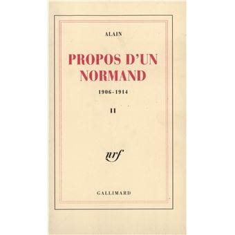 Propos d'un Normand (Tome 2)