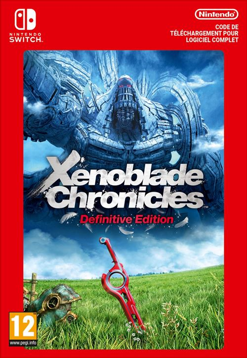 Code de téléchargement Xenoblade Chronicles 2 Nintendo Switch