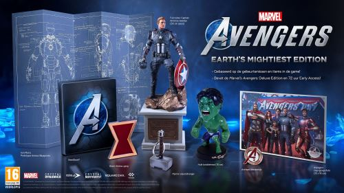 Marvel's Avengers Édition Earth's Mightiest PS4
