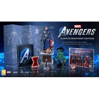 MARVEL'S AVENGERS EARTH MIGHTIEST EDITION FR/NL PS4