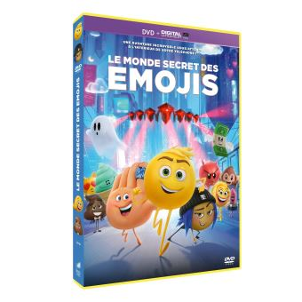 Le Monde secret des Emojis DVD
