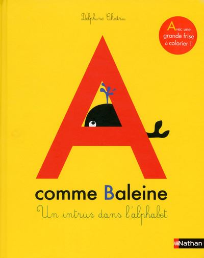 A comme baleine