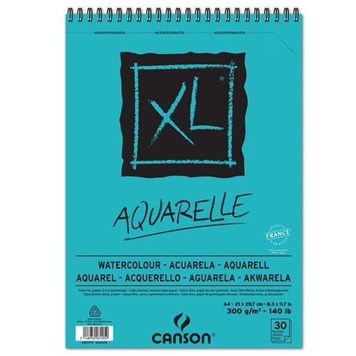 Bloc de 30 feuilles A4 Canson XL® Aquarelle