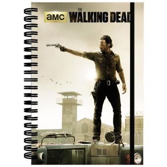 THE WALKING DEAD-NOTEBOOK A5-PRISON