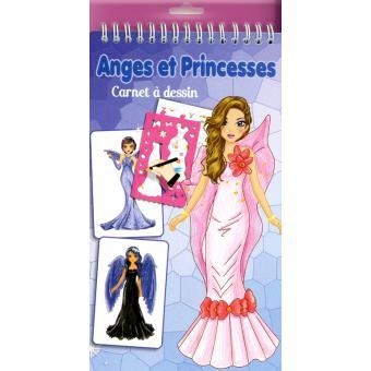Anges et princesses - Carnet à dessin