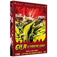 Coffret Gila le monstre géant L'attaque des sangsues géantes Volume 6 DVD