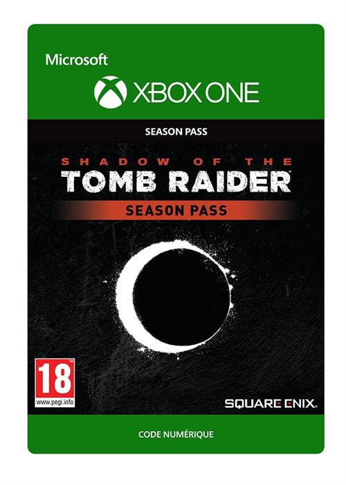Code de téléchargement Shadow of the Tomb Raider Xbox One